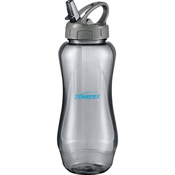 Aquos (r) Cool Gear (r) - Sport Bottle With Carabiner Hook, 32 Oz Photo
