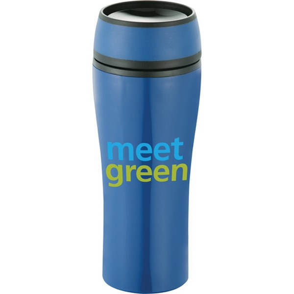 Sleek (tm) - 15 Oz Tumbler With An Innovative 360 Degree Spill Proof Lid Photo