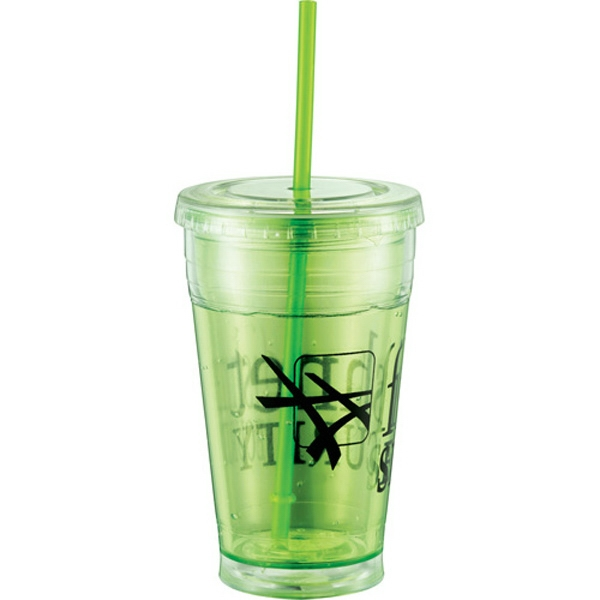 Cool Gear (r) Sedici Chiller (r) - Refreezable 20 Oz Acrylic Tumbler Keeps Your Favorite Beverages Frosty Cold Photo