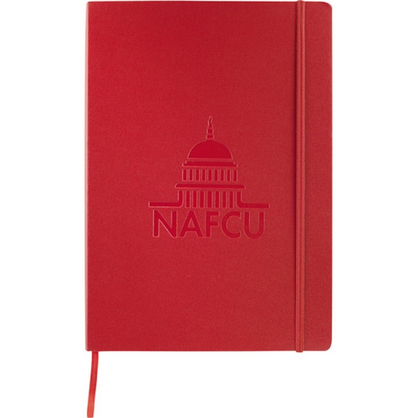 Ambassador Journalbooks (r) - Large Bound Journal With Built-in Elastic Closure And Ribbon Page Marker Photo