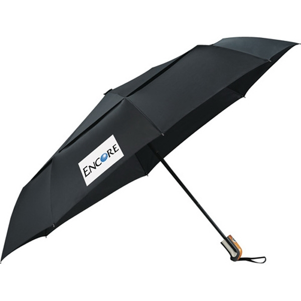 "Stromberg Brand (r) Chairman - 46"" Auto Open/close Vented Umbrella Photo"