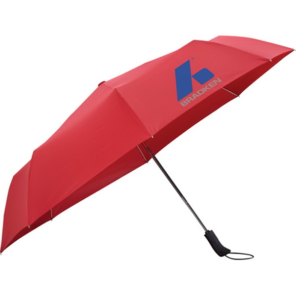 "Stromberg Brand (r) - 54"" Auto Open/close Folding Umbrella Made Of Polyester Photo"