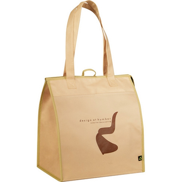 Non-woven Insulated Big Grocery Tote Bag Photo