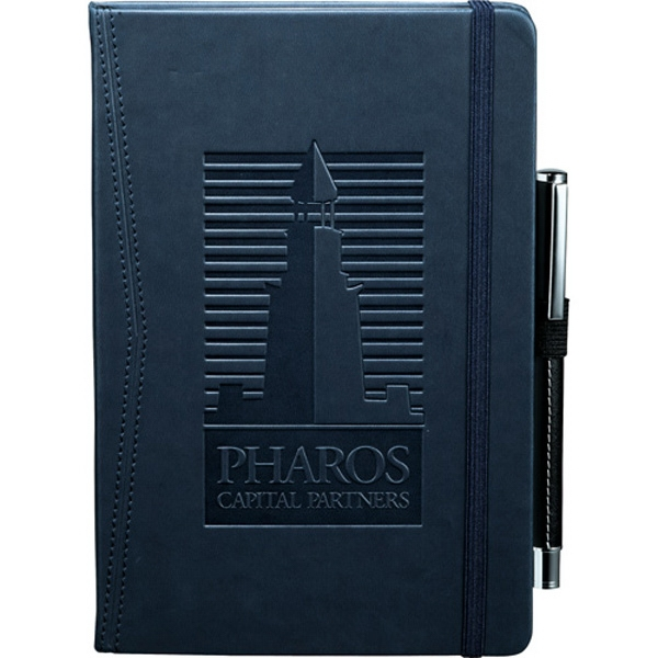 Journalbooks (r) Pedova (tm) - Pocket Bound Journal With Elastic Pen Loop. Includes 80 Sheets Of Lined Paper Photo