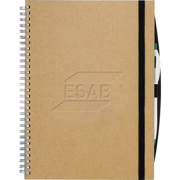 Journalbooks (r) - Hard Cover Large Journal With Elastic Closure Photo