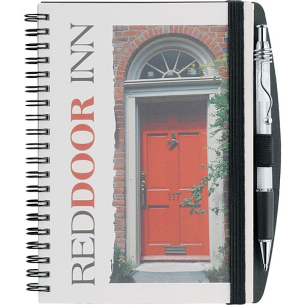 Reveal Journalbooks (r) - Journal With Full Color, Heavy, Coated Insert Page Protected By Plastic Cover Photo