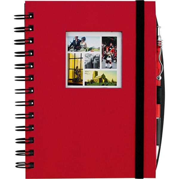 Journalbooks (r) - Chipboard Journal With Square Die-cut Window Cover Photo