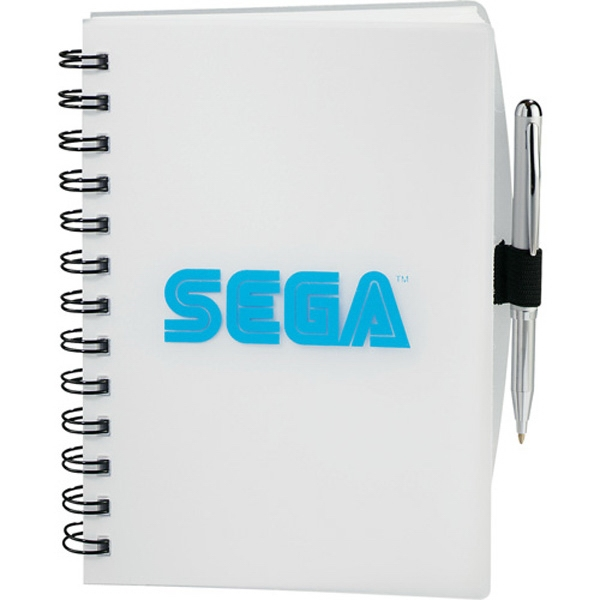 Spectra (r) Journalbooks (r) - Journal Book With 100 Sheets Of Spiral Bound Lined Paper And Elastic Pen Loop Photo