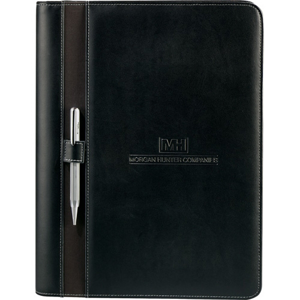 Stratford - Executive Binder With Zippered Closure And Removable Three-ring Binder Photo