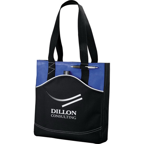 Boomerang - Tote Bag Made Of 600 Denier Polycanvas And Diamond Non-woven Photo