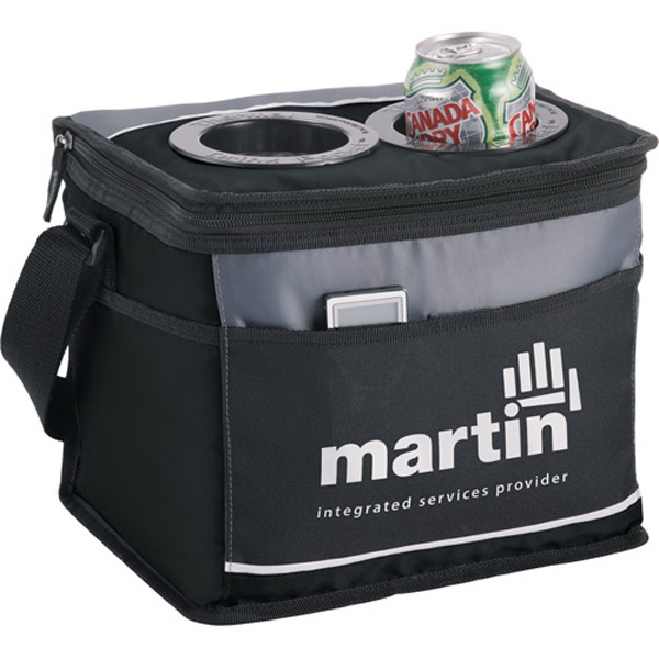 California Innovations (r) - Twelve-can Cooler With Drink Pockets Photo