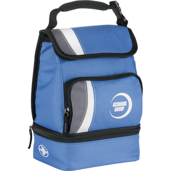 Arctic Zone (r) - Dual Compartment Lunch Cooler With Zippered Front Pocket Photo