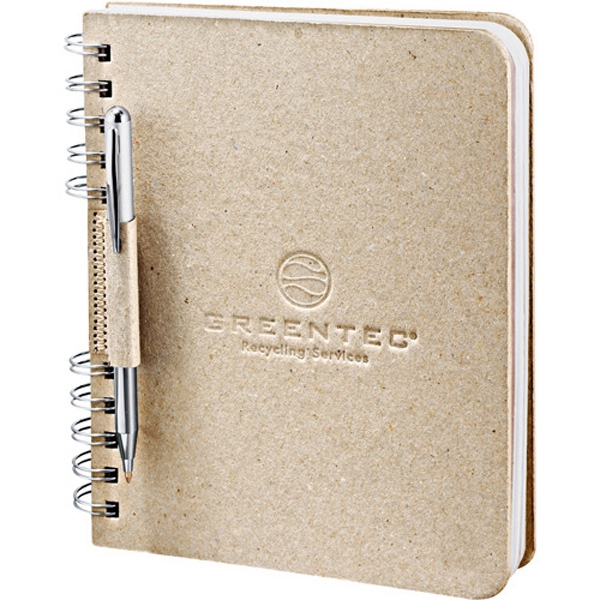 Journalbooks (r) Ecosmart (r) - Journal With Natural Color Cover Made From 100% Recycled Cardboard Photo