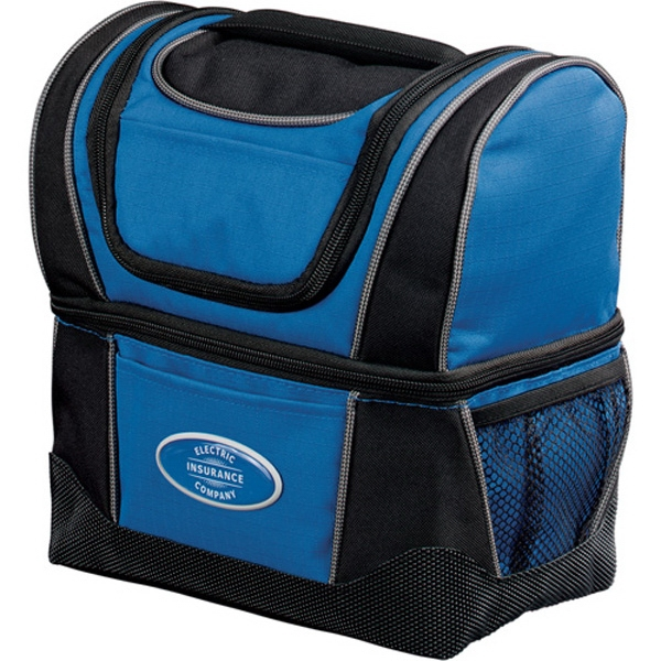 Workzone - Dual Compartment Lunch Cooler Made Of Ripstop Photo