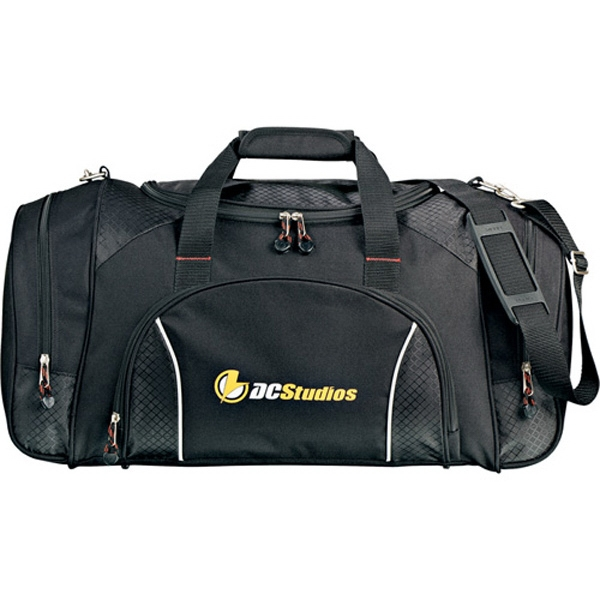 Triton Weekender - Black Carry-all Bag Made Of 600 Denier Polycanvas And Ripstop Nylon Photo