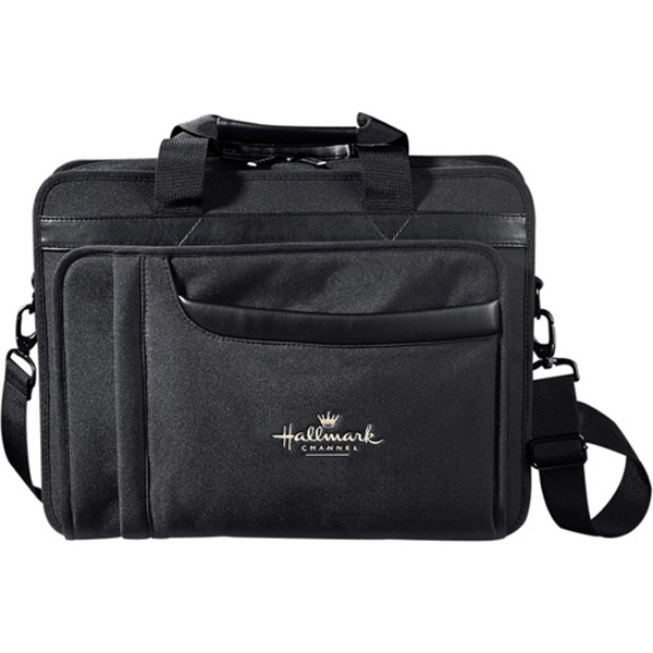 "Paragon - Black 600d Polycanvas Computer Briefcase, Holds A 17"" Laptop Photo"