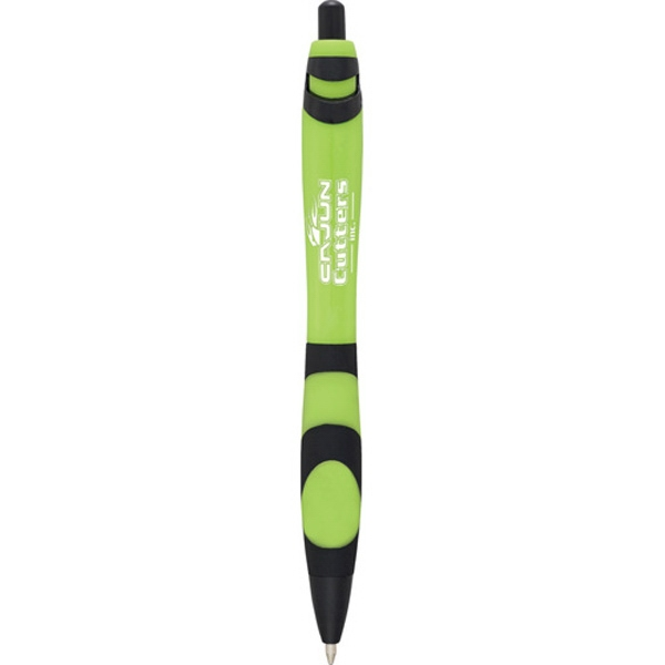 Scripto (r) Groovy - Ballpoint Pen With Vivid Colored Barrel And Black Accents Photo