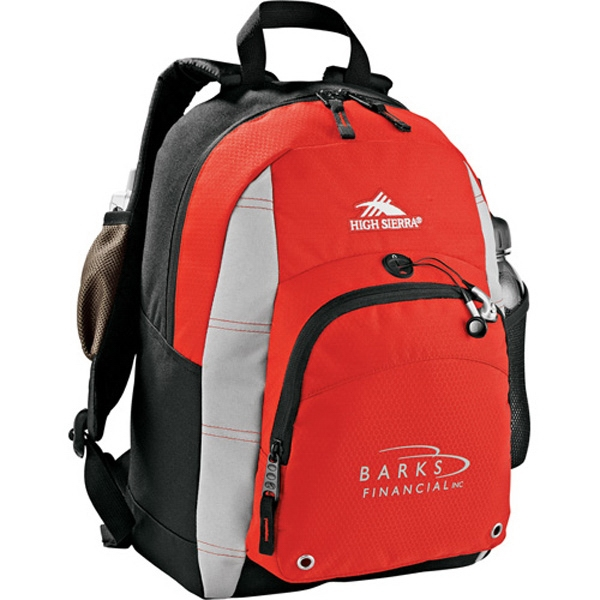 High Sierra (r) Impact - Daypack Bag Made Of Mini-hexagon Ripstop Nylon And 600d Duralite Photo