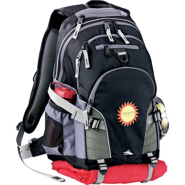 High Sierra (r) Loop - Backpack Made Of Mini-hexagon Ripstop Nylon, Waffle Weave, And 600d Polycanvas Photo