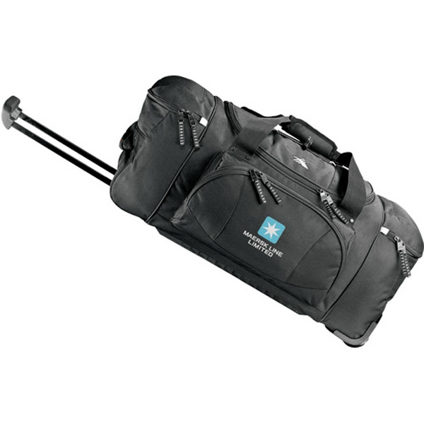 High Sierra (r) - Nylon Wheeled Duffel Bag With Inline Skate Wheels Photo