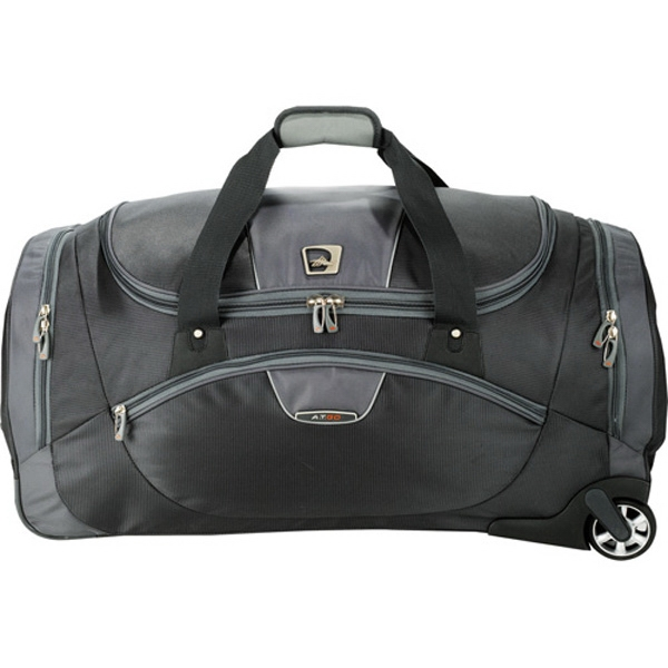 High Sierra (r) A.t. Go - Ballistic Wheeled Duffel Bag With 2 Side-load End Compartments Photo