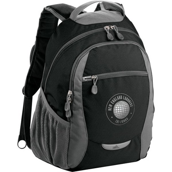 High Sierra (r) Curve - Backpack Made Of Mini-hexagon Ripstop Nylon And 600d Duralite Photo