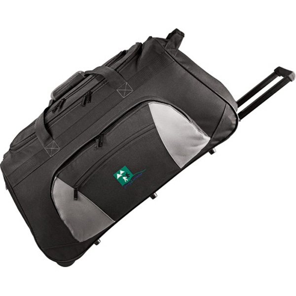 Excel (r) - 600 Denier Polycanvas Wheeled Travel Duffel Bag Photo