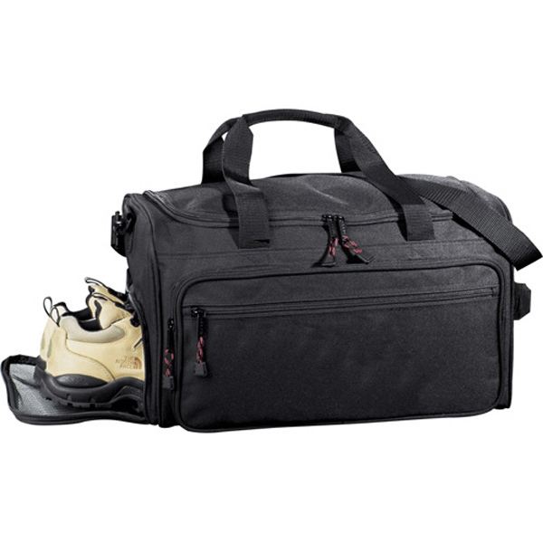 Excel (r) Club - Sport Duffel Bag Made Of 600d Polycanvas. Zippered End Pocket For Shoes Photo