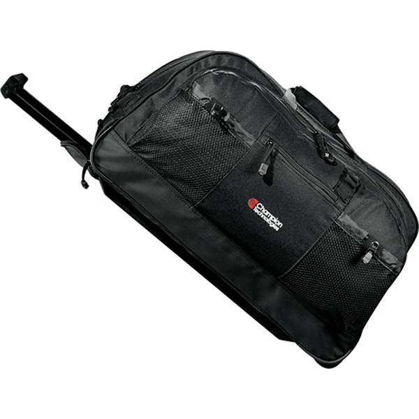 "Urban Passage - Polycanvas 25"" Rolling Duffel Bag With Inline Skate Wheels For Smooth Rolling Photo"