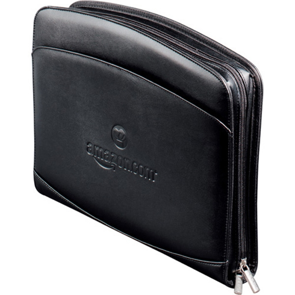 Milano Deluxe Versa-folio (tm) - Portfolio With Zippered Closure, Built-in Calculator, And Multiple File Pockets Photo