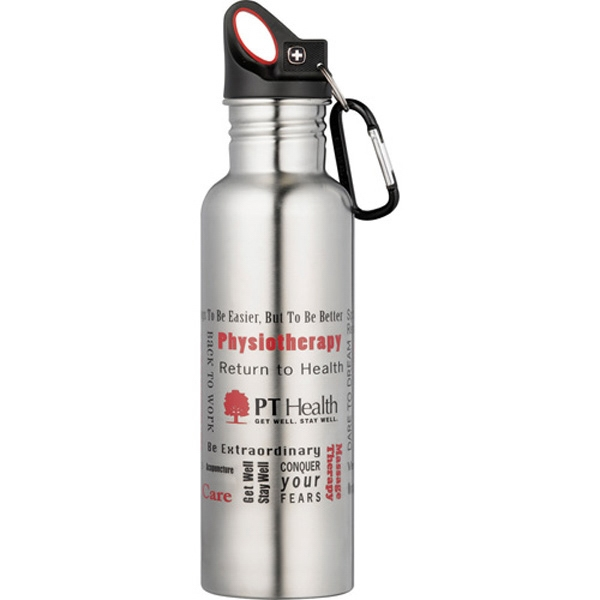 Wenger (r) - Bpa Free Stainless Sport Bottle, 26oz Photo