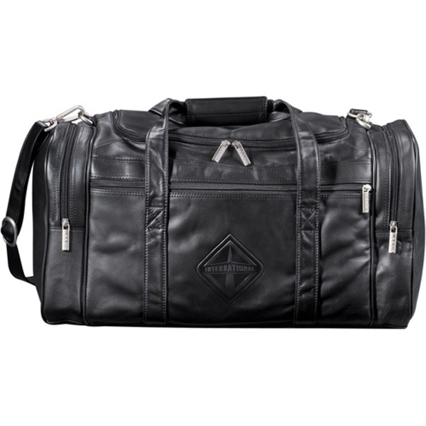 Genuine Top Grain Leather Duffel Bag Photo