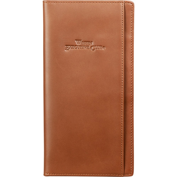 Cutter & Buck (r) - Genuine Top Grain Leather Travel Wallet With Pockets For Passport And Currency Photo