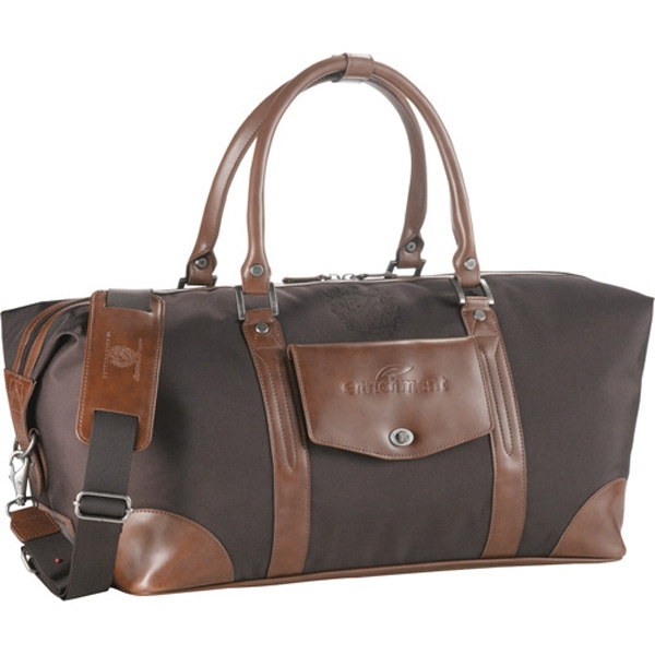 Cutter & Buck (r) - Weekender Duffel Bag Made Of 800d Nylon And Leather Photo