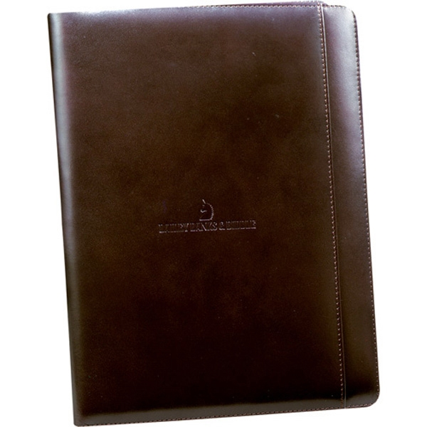 Cutter & Buck (r) - Genuine Top Grain Leather Writing Pad With Interior Pockets For Documents Photo