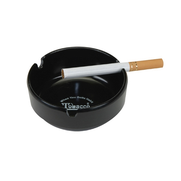 Durable Plastic Heatproof Ash tray With 3 Grooves