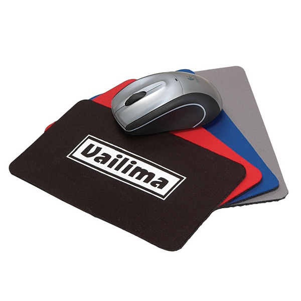 Mini Soft Rubber And Jersey Mouse Pad Photo