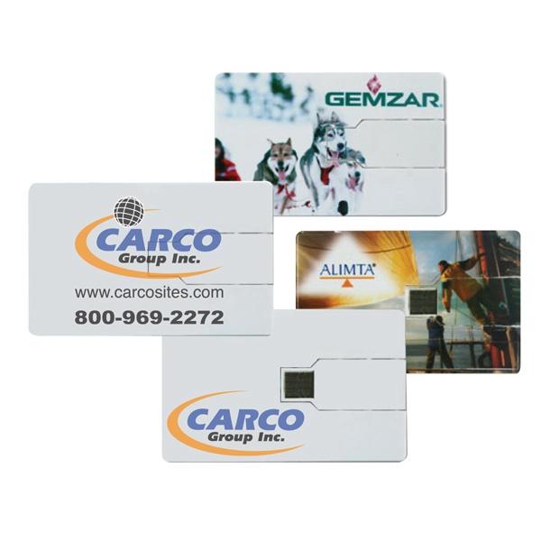 Credit Card USB Flash Drive (1GB - 32GB+)