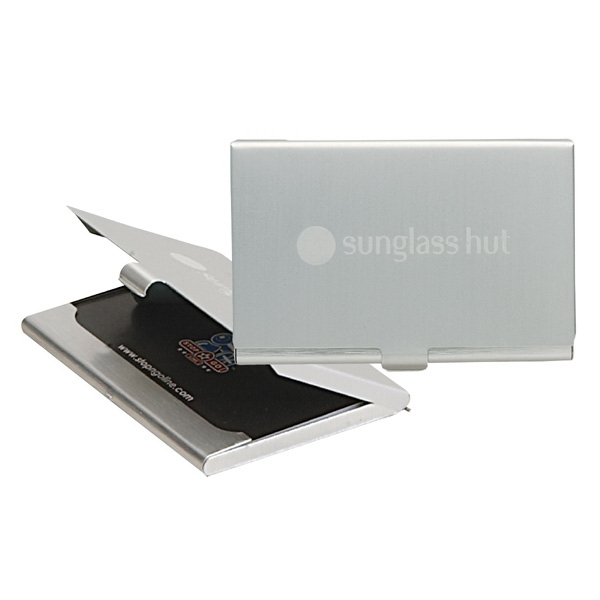 Aluminum Business Card Holder Photo