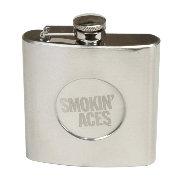 Stainless Steel 6 Oz Designer Flask Photo