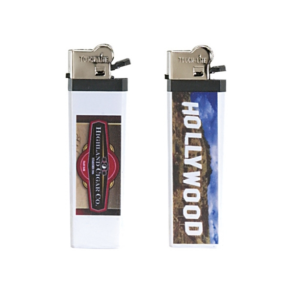 Prism Standard Flint Cigarette Lighter With 4 Color Process