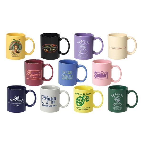 11 Oz. Standard Ceramic Mug