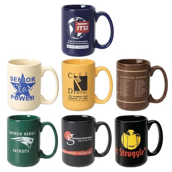 15 Oz. Standard Ceramic Mug