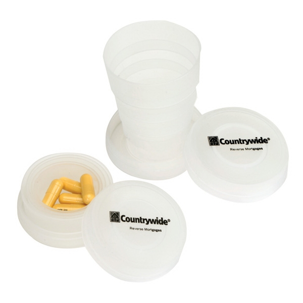 Collapsible Cup With Pillbox
