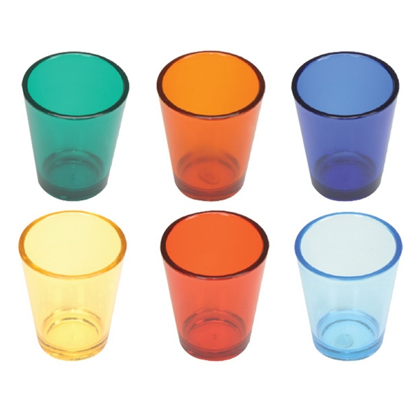Polycarbonate 1.5 Oz Shot Glass Photo