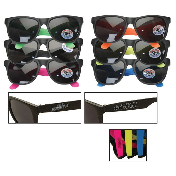 Neon Series Retro Sunglasses