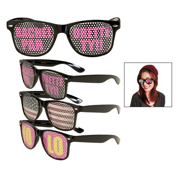 Custom Full Color Billboard Retro Sunglasses