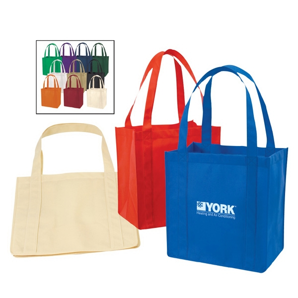 Non-Woven Polypropylene Tote Bag With Plastic Bottom