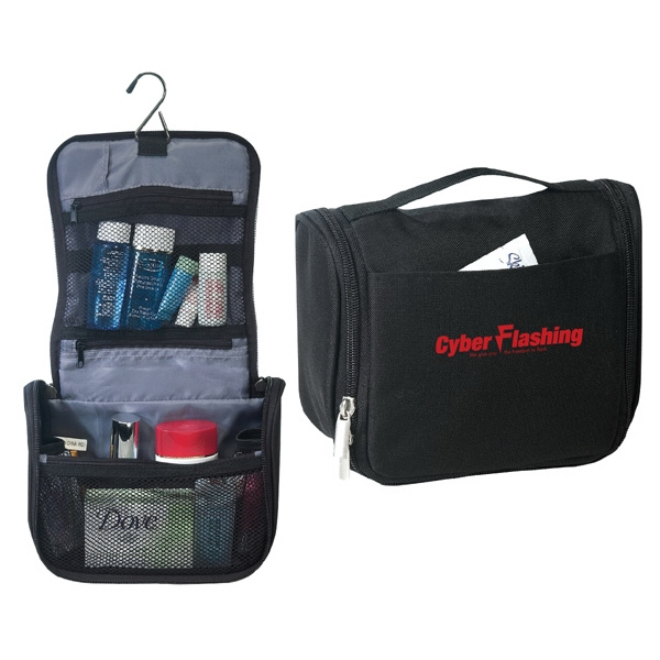 600 Denier Deluxe Multi-Compartment Travel Kit