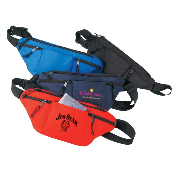 Fanny Pack With Four Zipper Pockets Photo